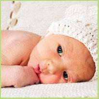 Aardbeienvlek of hemangioom - Geboortevlekken