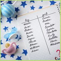 Babynamen, welke kies je?