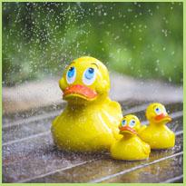 Badeendjes - Spelen in bad met schattige eendjes