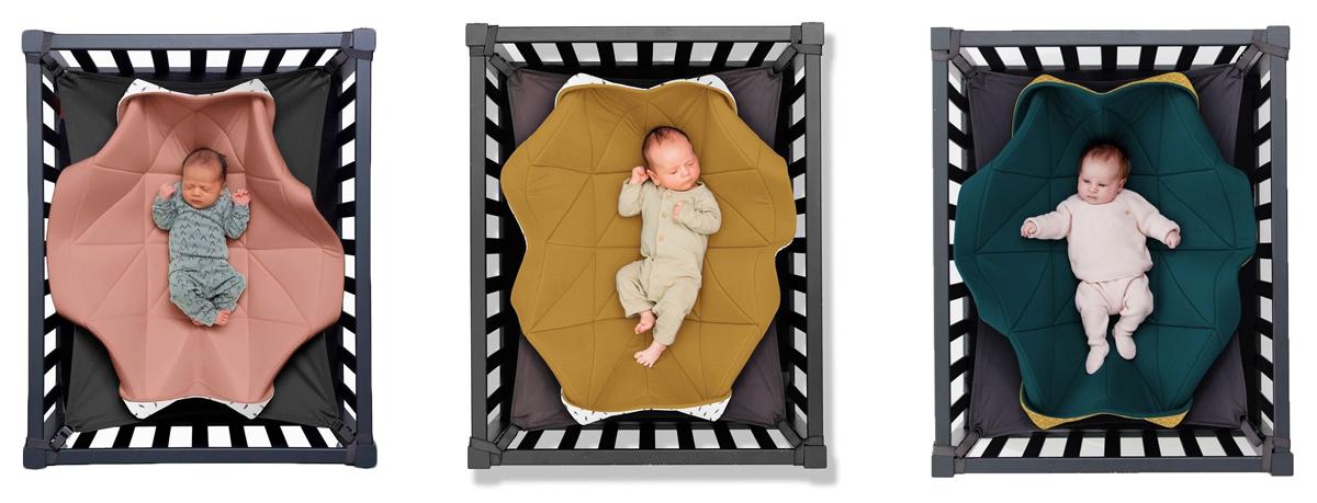 Hangloose Baby, het zwevende babybedje