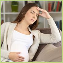 Hoofdpijn en zwanger