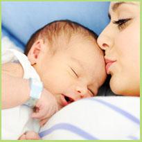 Ontwikkeling baby per maand