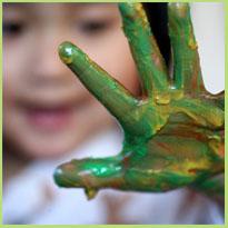 Creativiteit - Een creatieve peuter, een picasso in de dop!