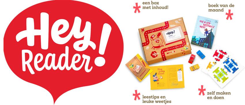 Hey Reader! Kinderboekenclub