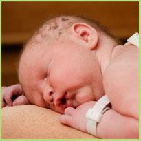 Welke reflexen heeft een pasgeboren baby?