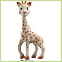 Doorkomende tandjes: Neem een hapje Sophie de Giraf!