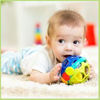 Speelgoed voor baby 0-1 jaar