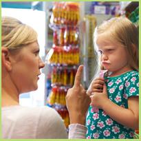 Drama in supermarkt