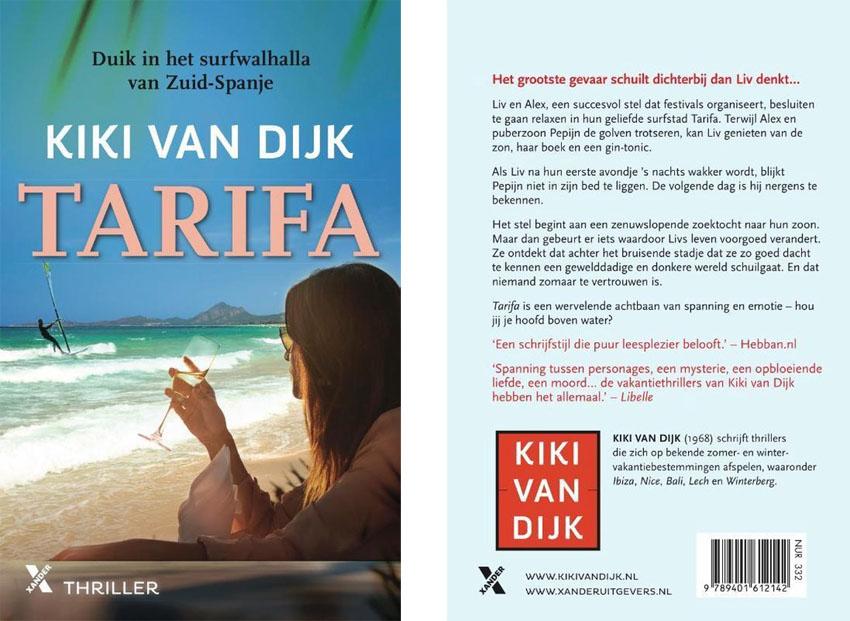 Mail en winactie Tarifa van Kiki van Dijk