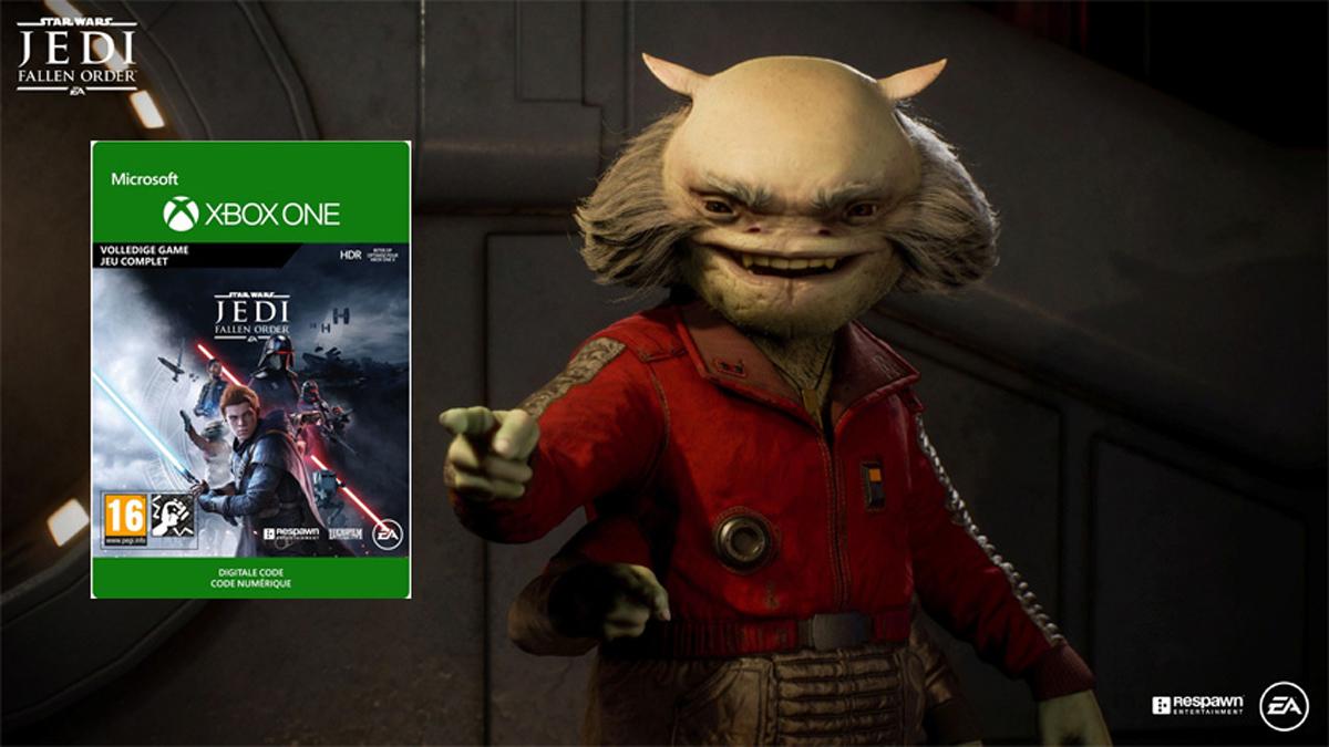 gametips voor de feestdagen - Star Wars Jedi: Fallen Order (Xbox)