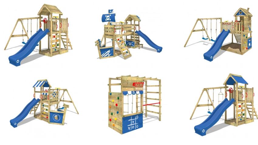 Wickey Speeltoestellen - Buitenspelen? Zorg voor een kinderparadijsje in de tuin.