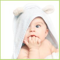 Het zicht van een pasgeboren baby. Wat kan hij zien?