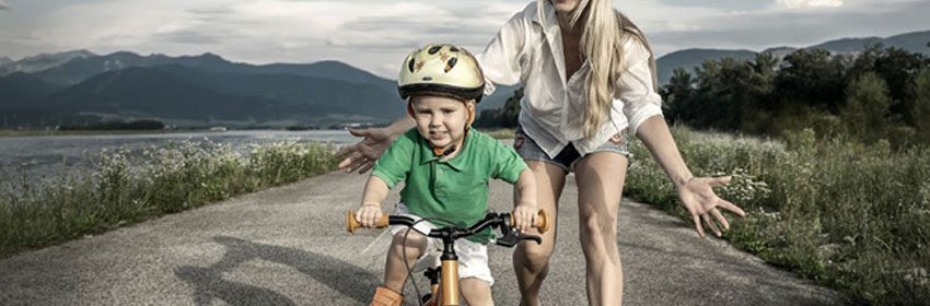 Op welke leeftijd leer je een kind fietsen?