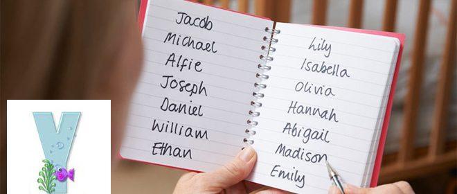 Babynamen - Meisjesnamen met een Y