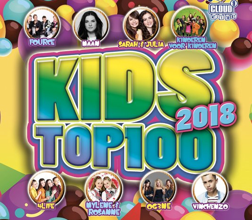 Kids hits top 100 2018