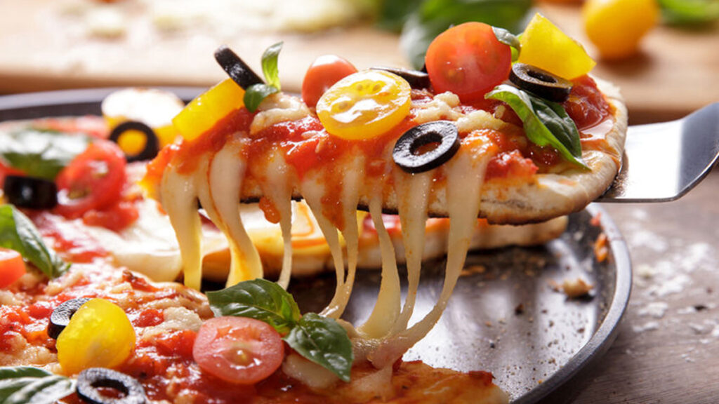 Op kaaspizzadag eten we uiteraard pizza!