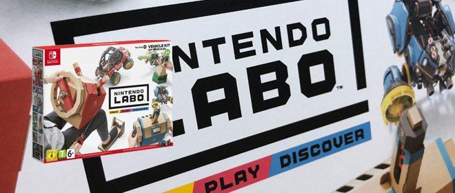 Nintendo LABO – Voertuigenpakket