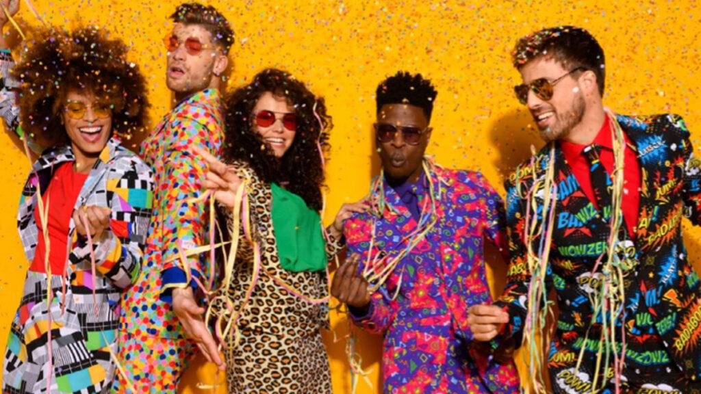 Knotsgekke carnavalsoutfits voor mama's en papa's