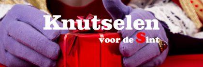 Knutselen voor Sinterklaas