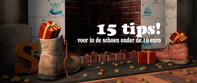 Schoencadeautjes onder de 10 euro! 15 tips!