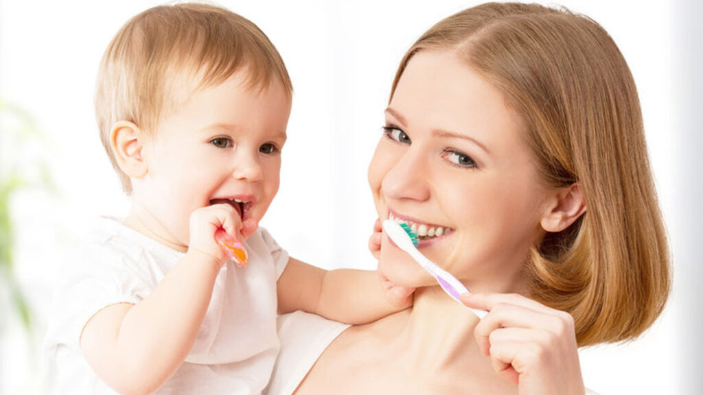 Tanden poetsen en mondverzorging