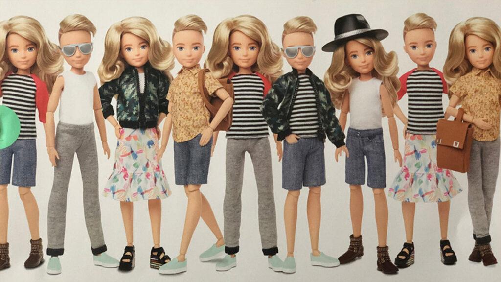 Creatable World, de genderneutrale pop van Mattel