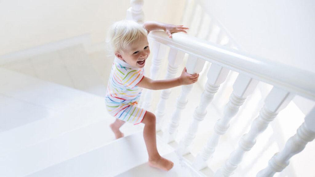 Een veilige trap voor de kinderen
