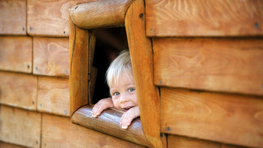 Wickey houten speeltoestellen