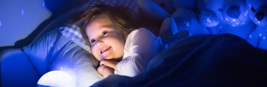 Bang in het donker? Welke producten kunnen je kindje helpen?