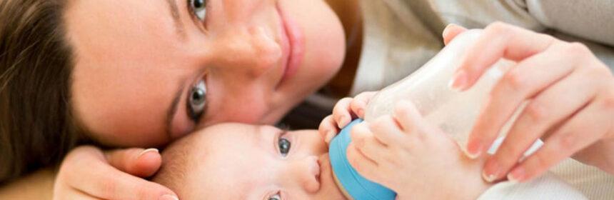 Kunstmatige zuigelingenvoeding voor je baby