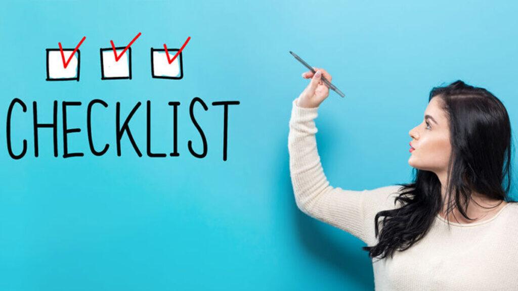 Checklists - Handige lijsten