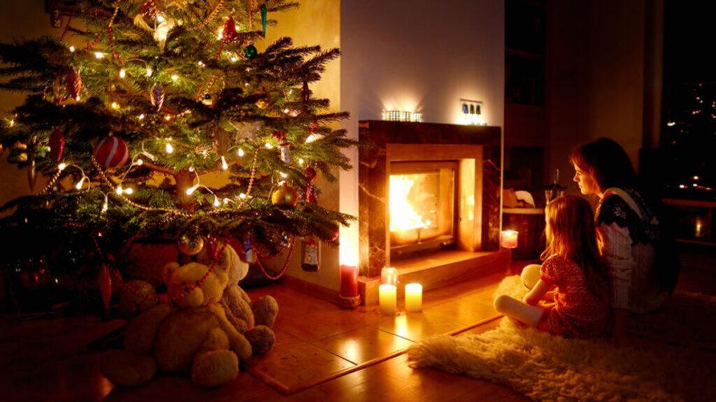 Een gezellig huis met de kerst