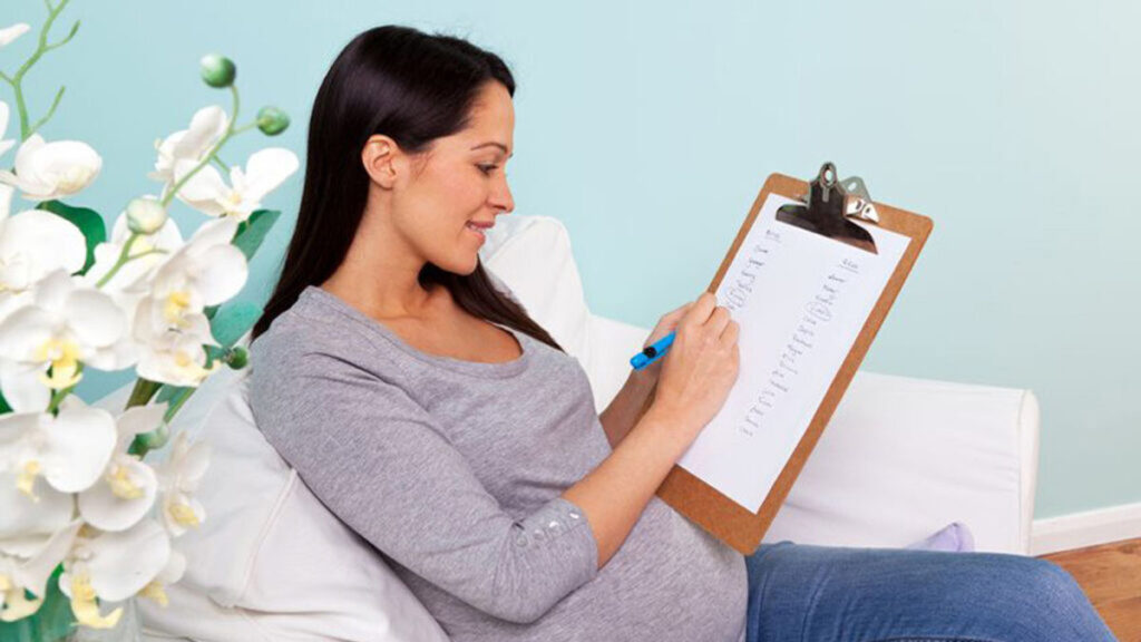 Zwangerschapsspiekbrief