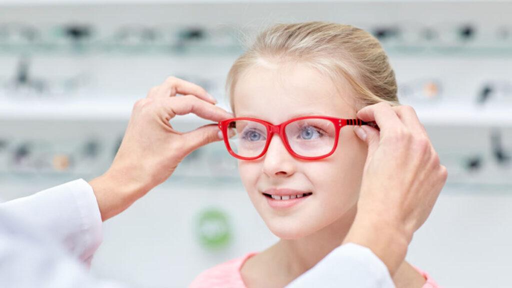 Bril aanmeten bij kinderen