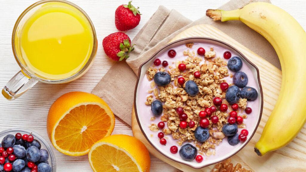 Gezond ontbijt, een goed begin van de dag!
