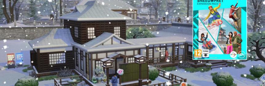 De sims duiken de sneeuw in met expansion pack Sneeuwpret
