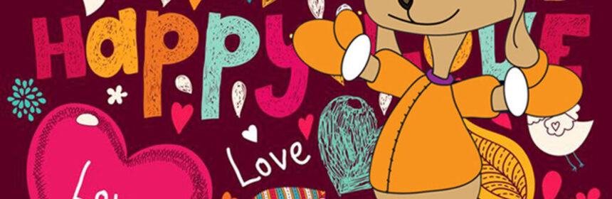 Willy Woef viert Valentijn