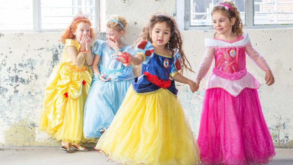 Voor ieder verkleedmoment een eigen prinsessenjurk