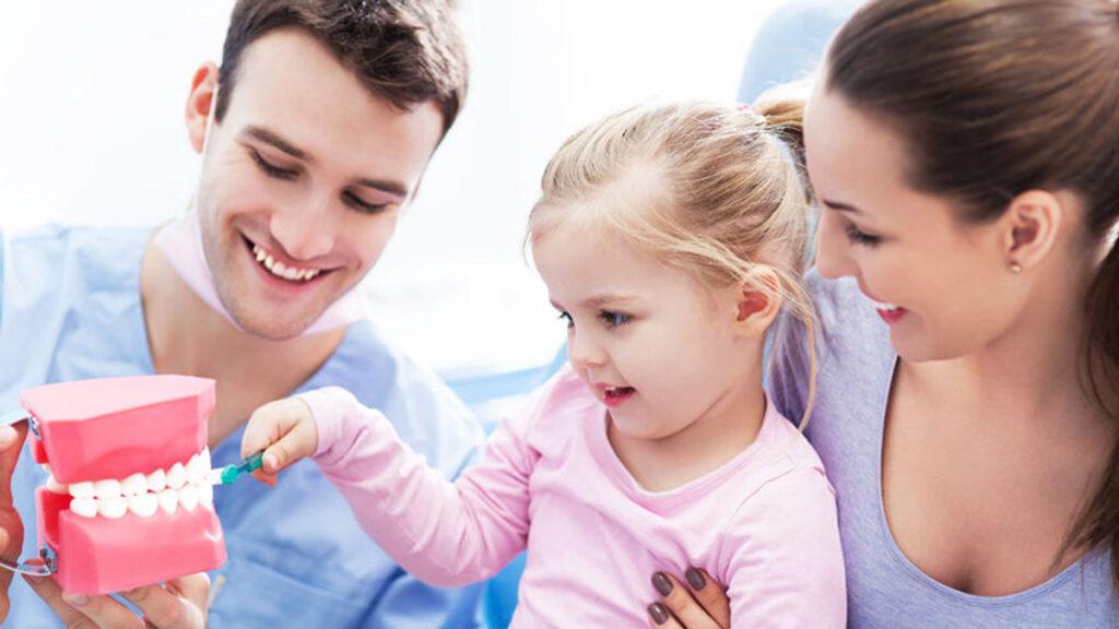 Kinderen en de tandarts. Hoe eng is het?