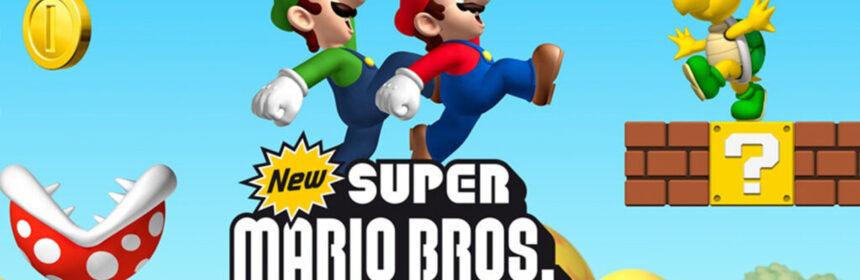 De spellen van Super Mario Bros