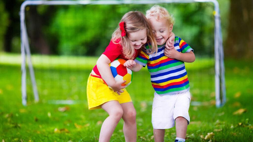 Samen spelen is een kwestie van blijven proberen