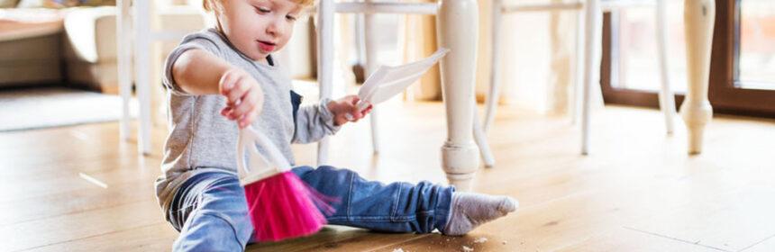 Welke vloer kies ik met kleine kinderen in huis?